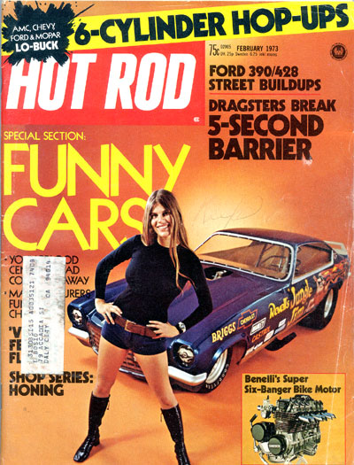 Hot Rod magazine, Jungle Pam
